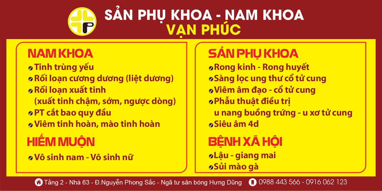 Khám nam khoa Tại Vinh Nghệ An